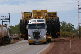 Oversize Abnormal Load Transport